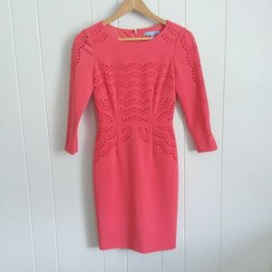 Antonio Melani Coral Midi Dress